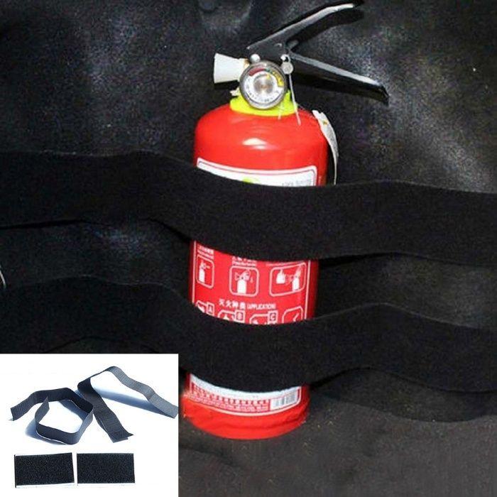 Държач стойка за закрепване на пожарогасител в багажник ,каравана и др