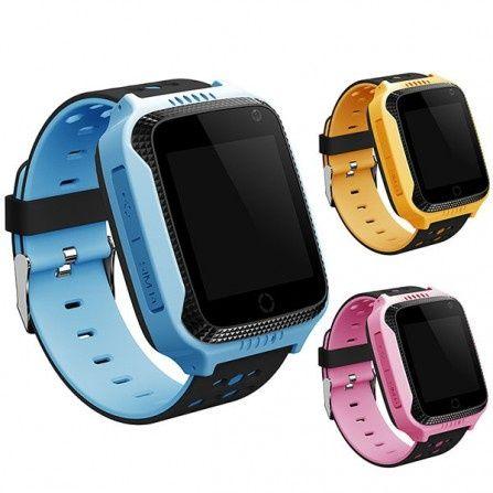 Детские умные GPS часы T7 (GW500S, G100, GM11) с фонариком и камерой (