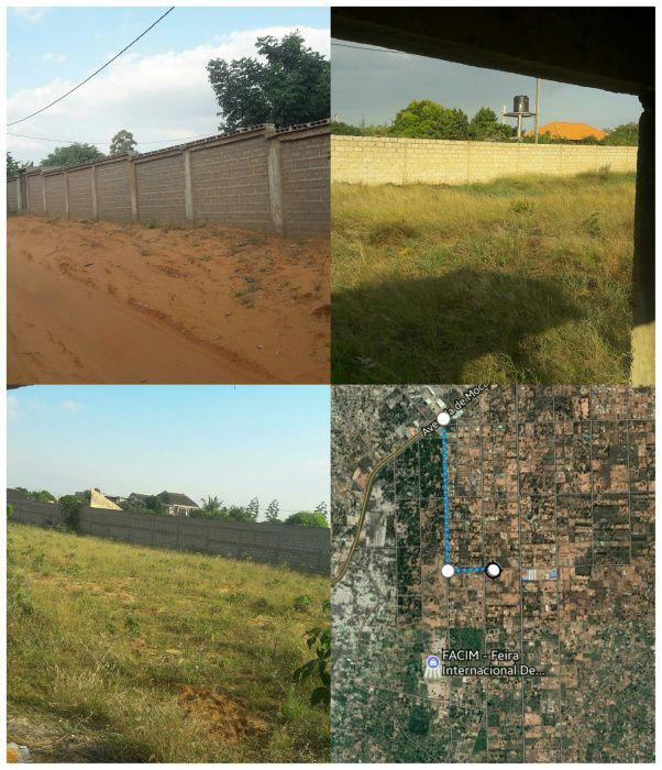 Trespasse de uma propriedade de terra 100/50 em Maracuene - FACIM