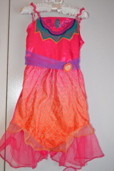Costum de carnaval halloween serbare rochie Sirena Barbie