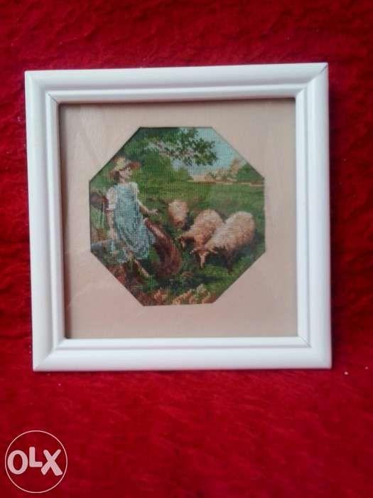 """Goblen """"cu oile la păscut"""""""