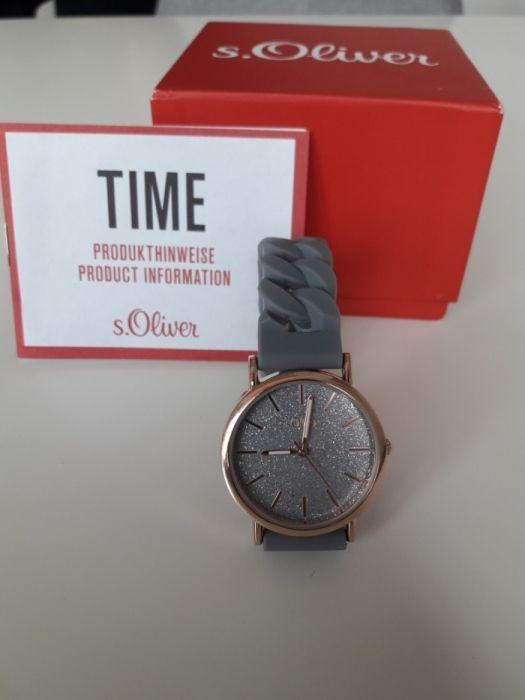 Нов дамски силиконов часовник s. Oliver