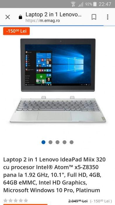 Laptop Lenovo 2in1