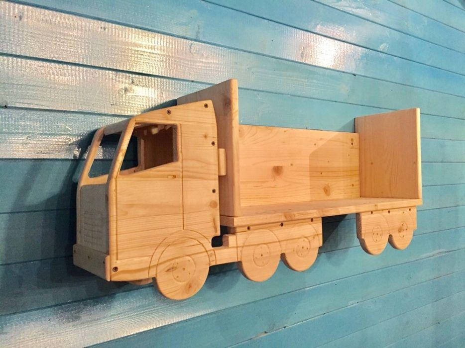 Raft-camion pentru masinute.
