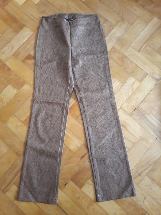 Vand pantaloni marimea 42vintage/retro/oldschool piele sarpe/ecologica