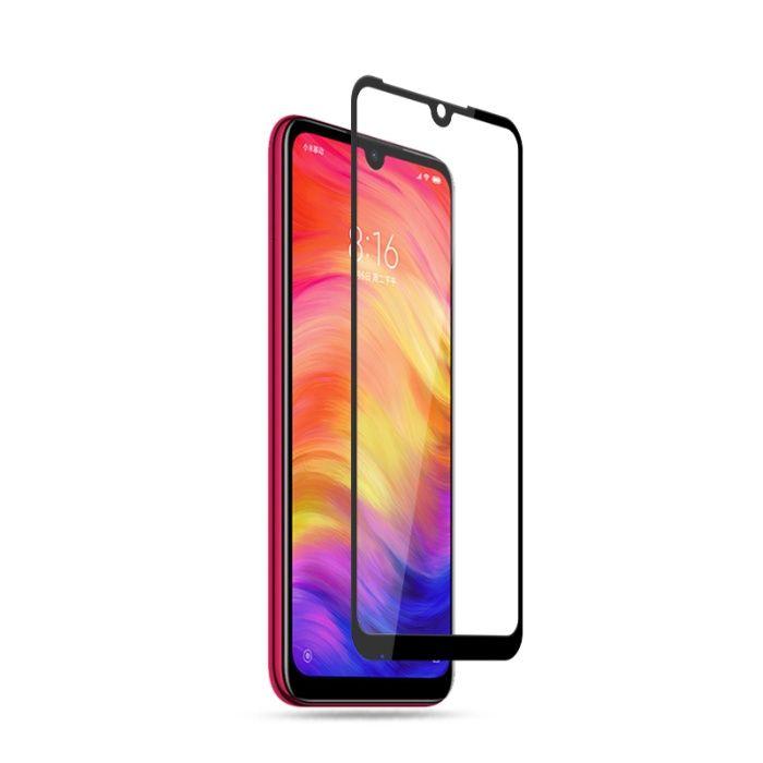 Закален удароустойчив 6D стъклен протектор за Xiaomi Redmi Note 7 гр. Шумен - image 4
