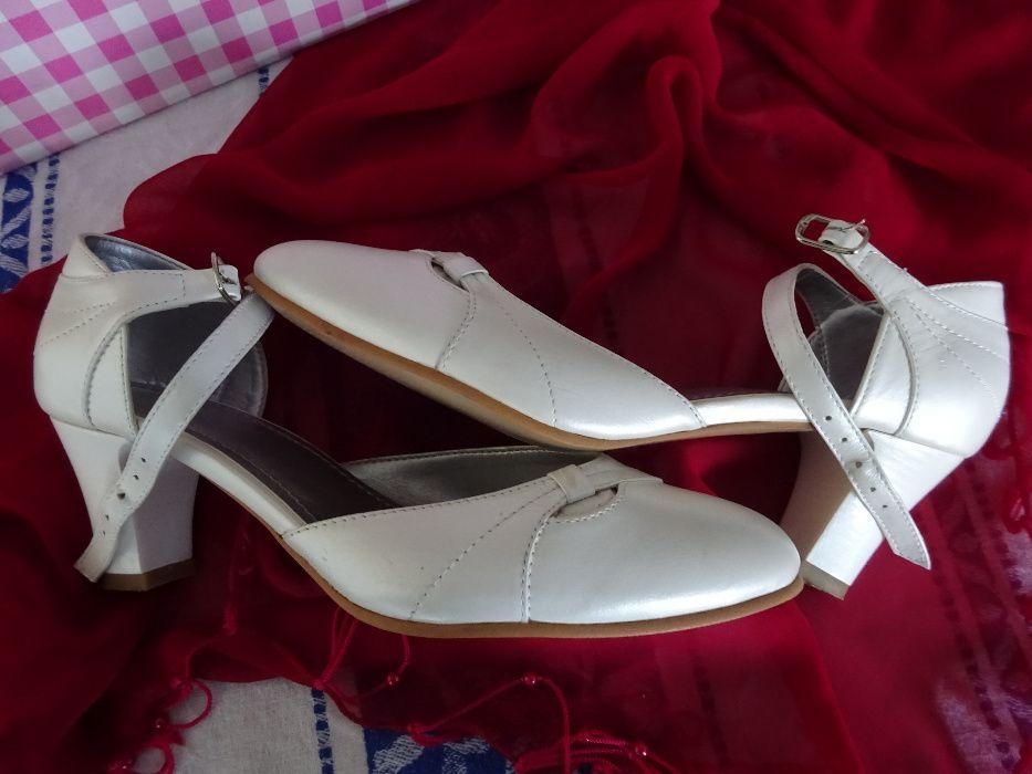 Pantofi piele mireasă Bucuresti - imagine 4