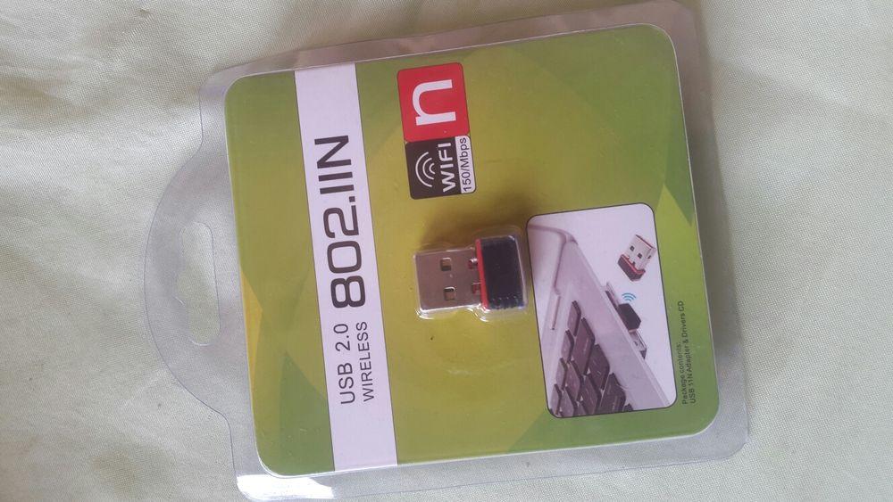 Adaptador de internet wireless (Wifi para computador)