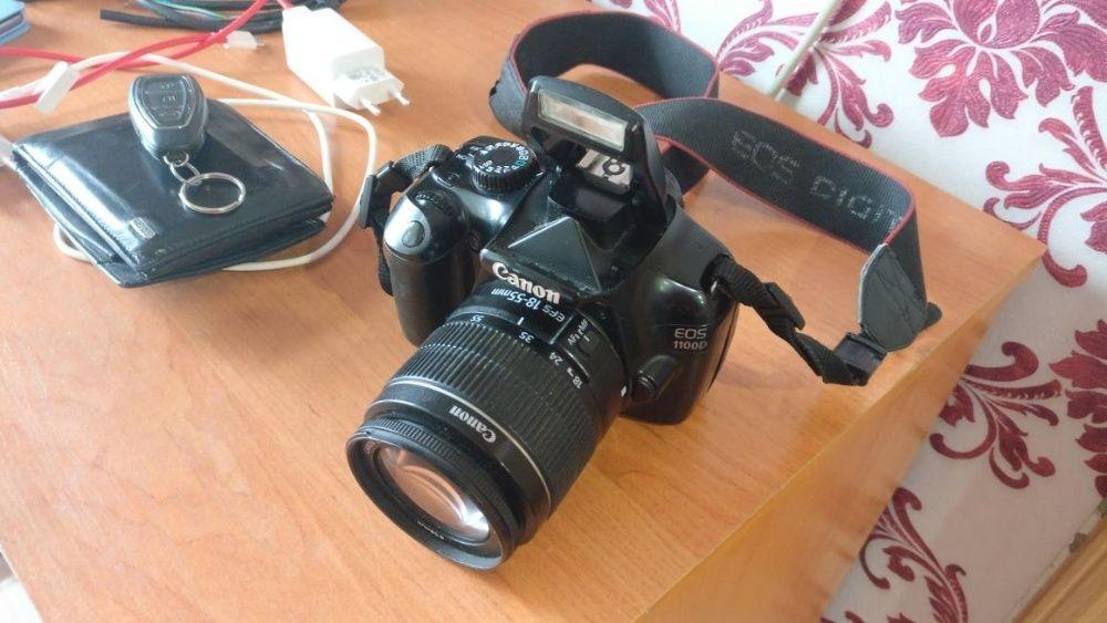 Зеркальный фотоаппарат Canon EOS 1100D Кенон