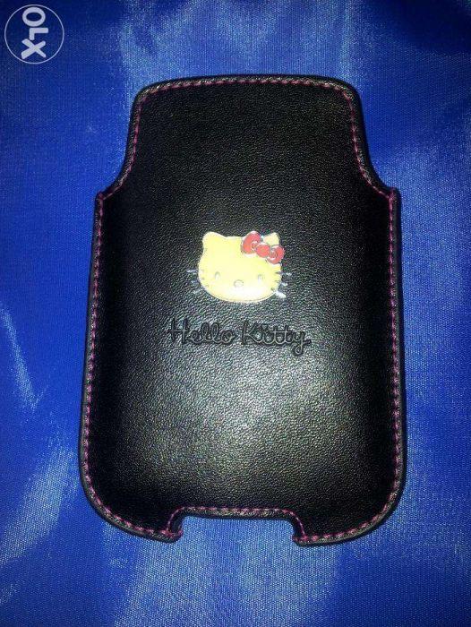 Husa Piele Hello Kitty iphone 3gs Blackberry 9900