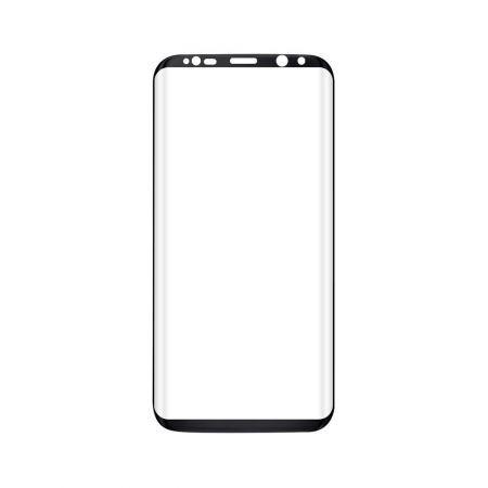Folie sticla transparenta pentru Samsung S8.Gratuit kit de curatare
