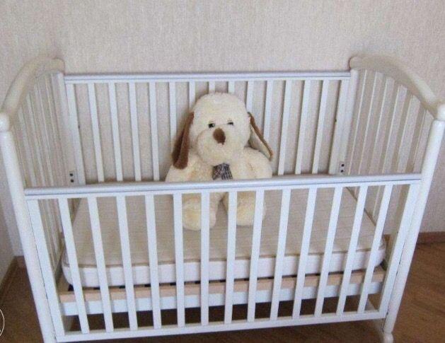 Бебешко легло Pali Meggie White