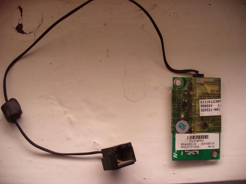 Modem laptop HP Compaq nx6110