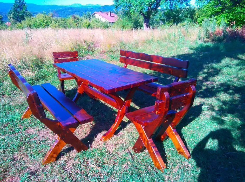 Баварски градински маси,пейки и столове от дърво,кухни спални