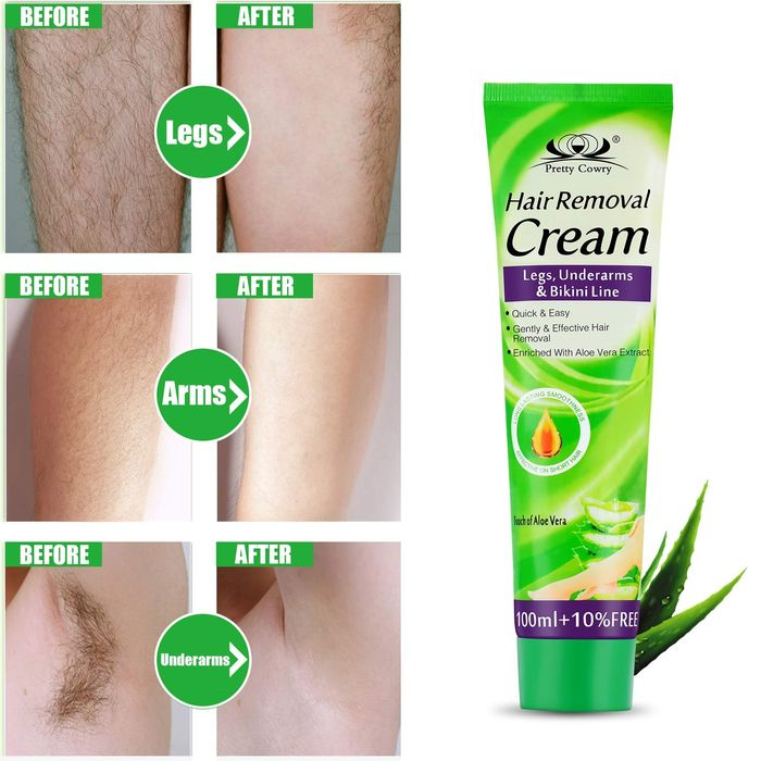 Creme para depilação (masculino e feminino)