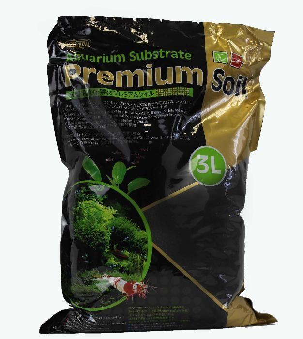 Субстрат (грунт)для растений и креветок премиум класса 3л