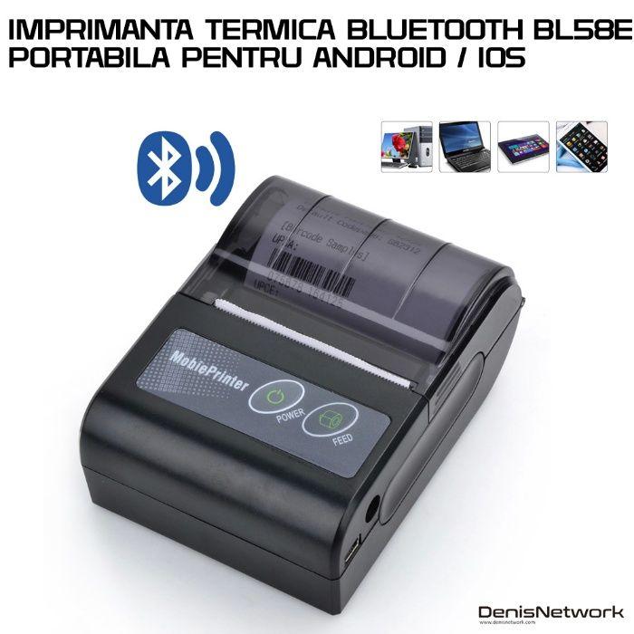 Imprimanta bluetooth BL58E ANDROID / IOS / WINDOWS