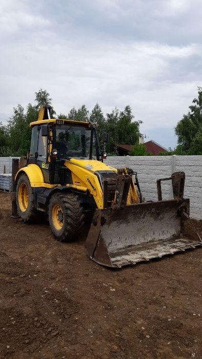 Inchiriez buldoexcavator cu operator Dej - imagine 1