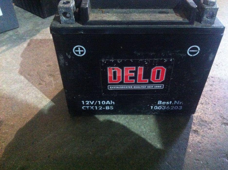 акумулатор за мотор 10ач,гаранция
