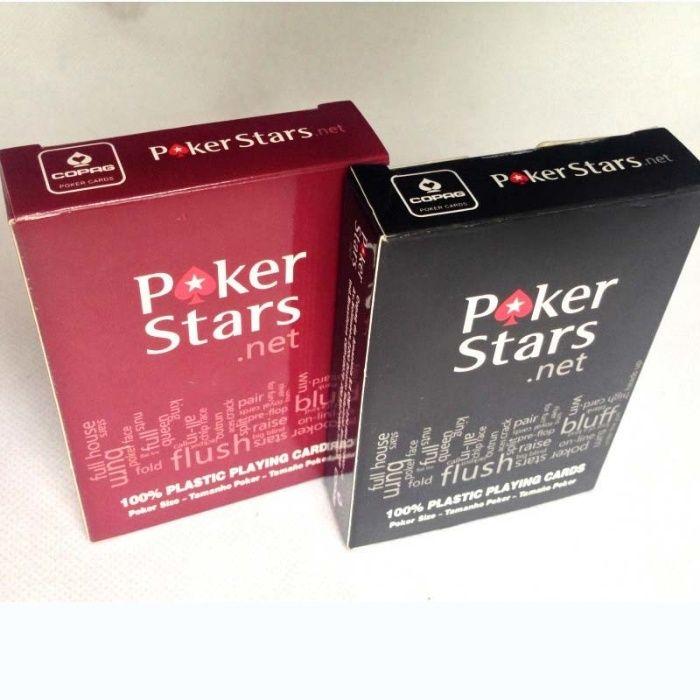 Покерные карты, пластиковые карты, poker stars(покер)