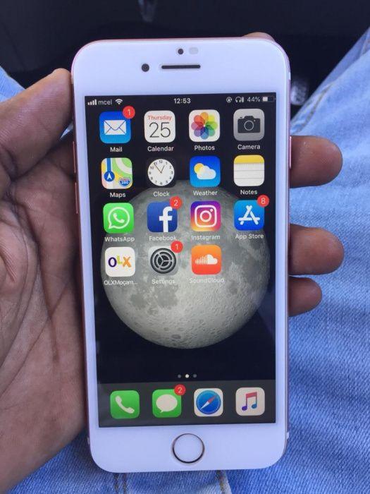 iPhone 7 32gb rose gold novo