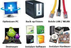Reparatii Calculator ,laptop , devirusari, montez wirelessul
