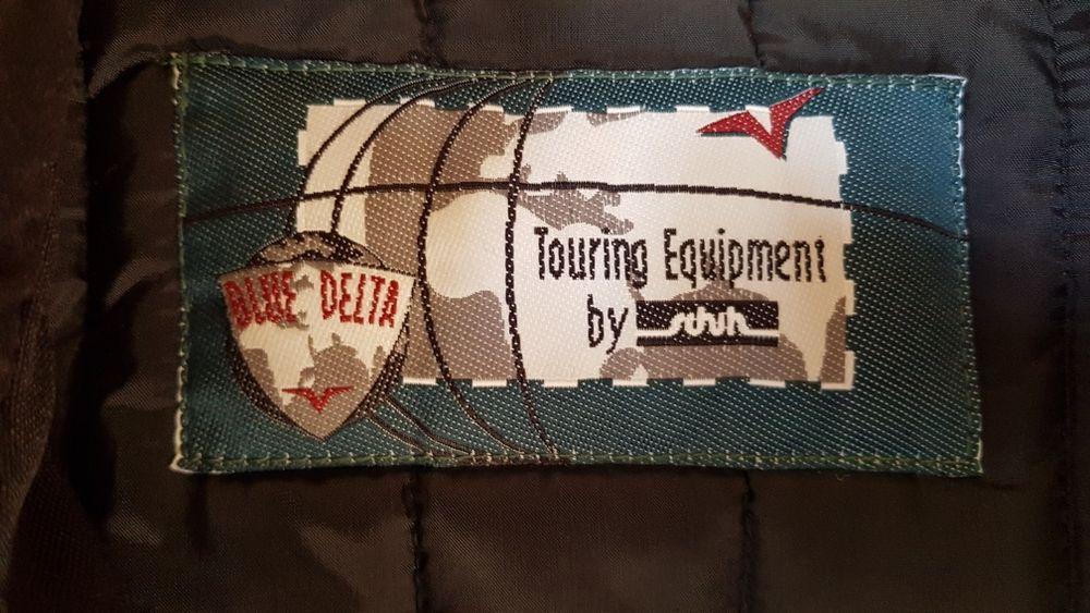 Geacă Moto Blue Delta Shoelller material Cordura