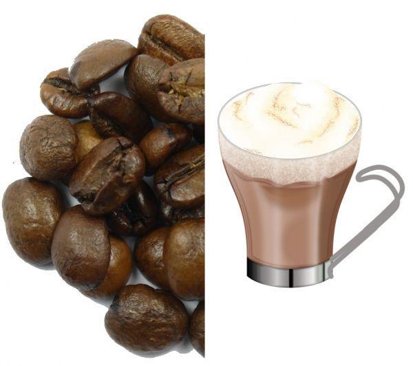 Cafea Boabe cu aroma de Ciocolata - 1 kg