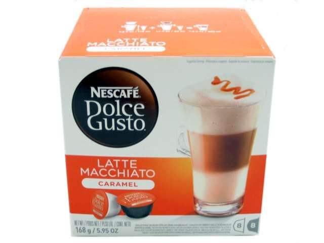 capsule NESCAFE DOLCE GUSTO cutie SIGILATA cu 16buc cappuccino barista
