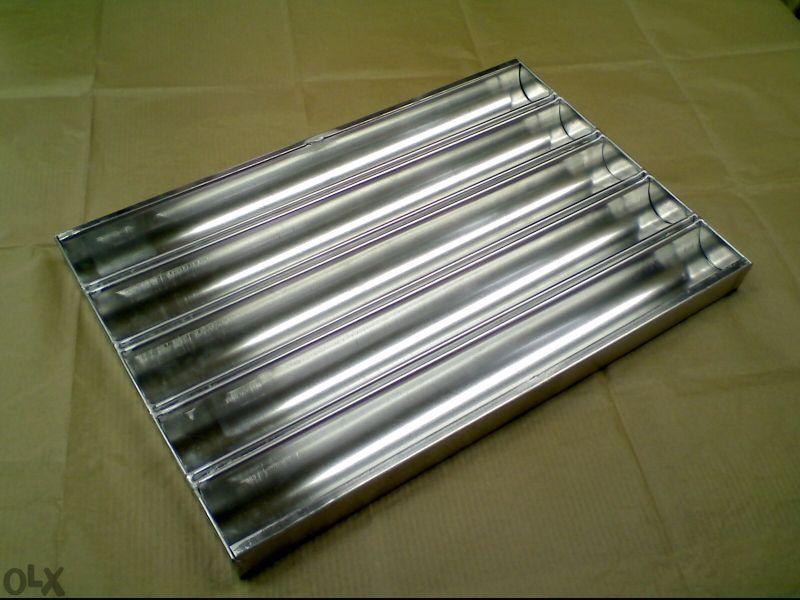 Тава алуминиева за франзели,багети,питки за хот дог,нова от производит