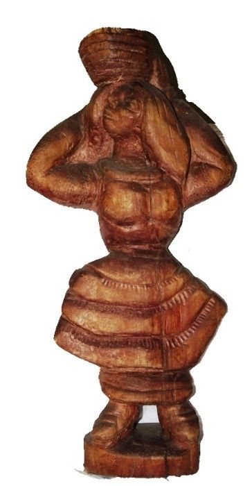 Statueta, Taranca Sculptura lemn