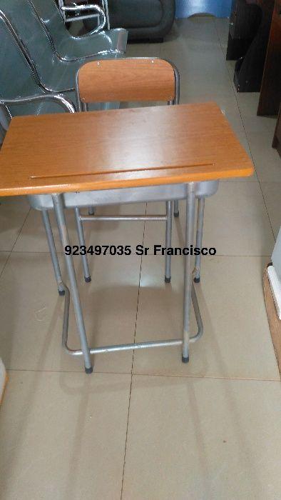 Carteira escolar individual produto novo com directo entrega e montage