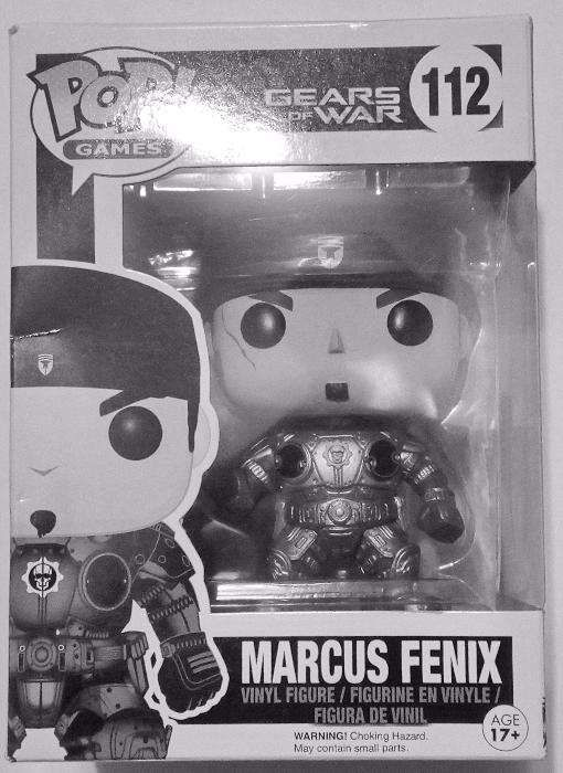 Pop Games Vynil Figure 112 Marcus Fenix Gears Of War Action Figure
