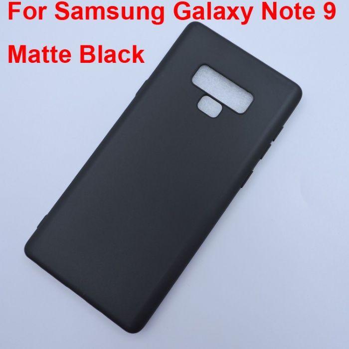 Samsung Note 8 Note 9 - Husa Ultra Slim Din Silicon Neagra