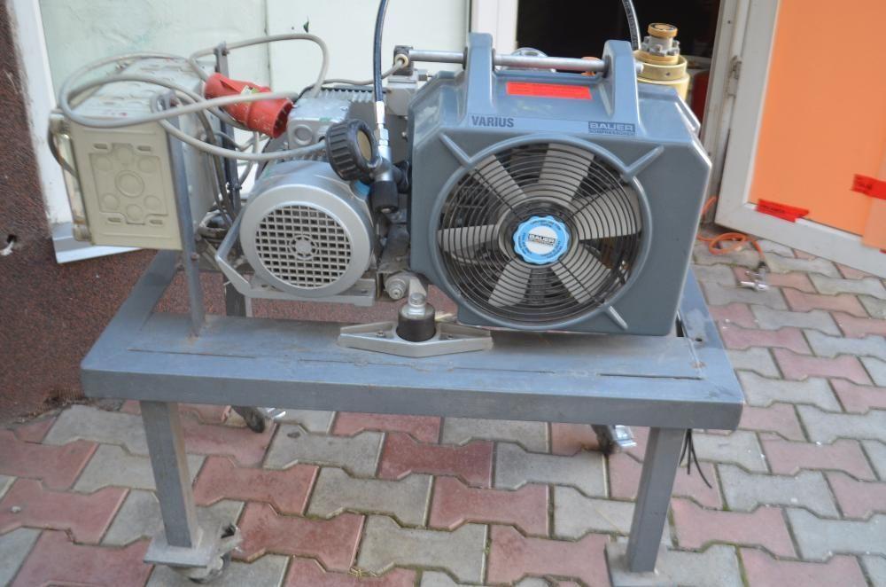 vand compresor scuba Bauer 380 v 200 bari