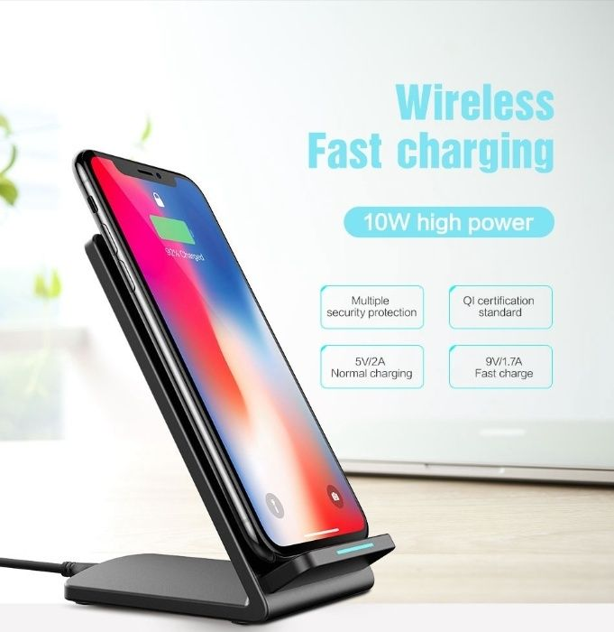 Incarcator Floveme-Wireless-Stand-Suport-Telefon(FAST CHARGER 5V/2.1A)