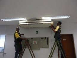 faz se trabalho de frio havac manutenção reparação
