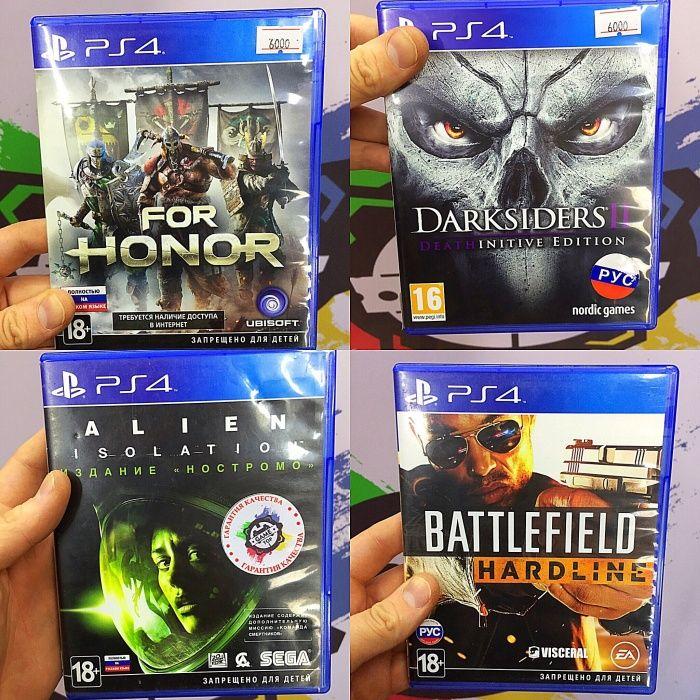 Игры для PS4 \ магазин GAMEtop \ + возможен ОБМЕН