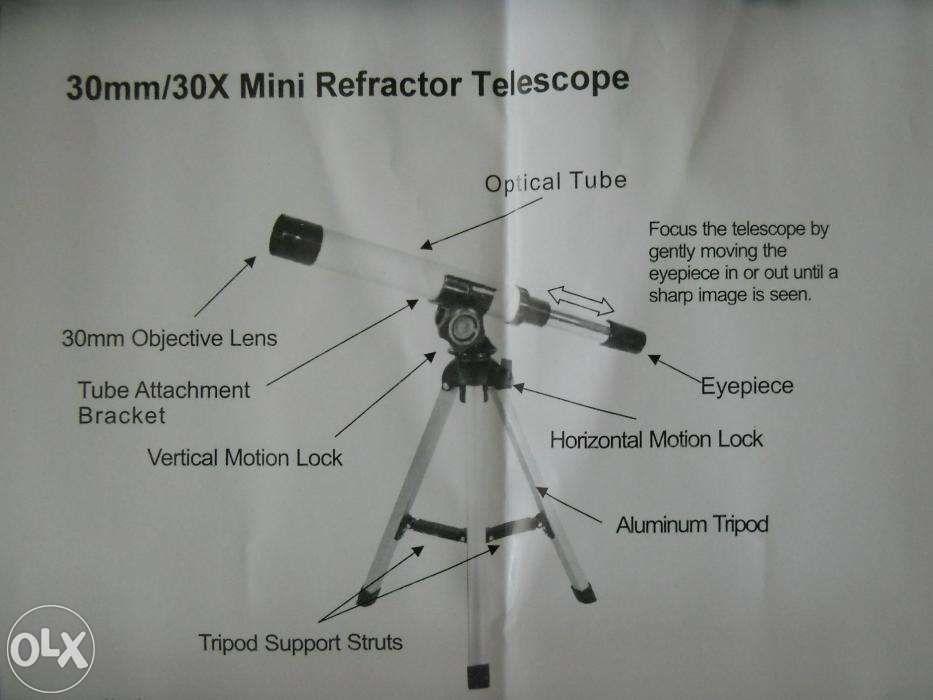 OKAZIE Minitelescop REFLECTS pentru copii, 30x, absolut nou, calitate Bucuresti - imagine 2