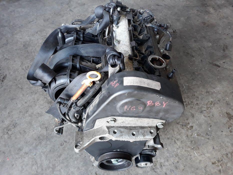 Motor 1.4 16V benzina VW Polo Lupo AUDI A2 , 55KW 75cp cod BBY 1390 cm