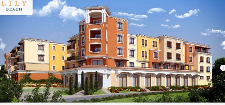 Почивка в нов луксозен апартамент в комплекс Лили Бийч Созопол