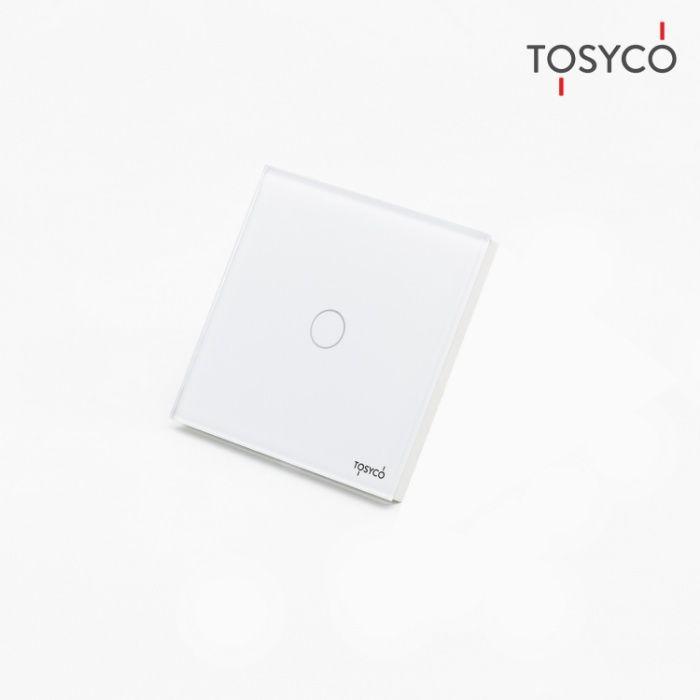 Tosyco.ro Întrerupător simplu cu touch (tactil) din sticlă