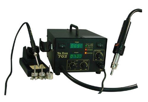 станция с топъл въздух и поялник ya xun 702
