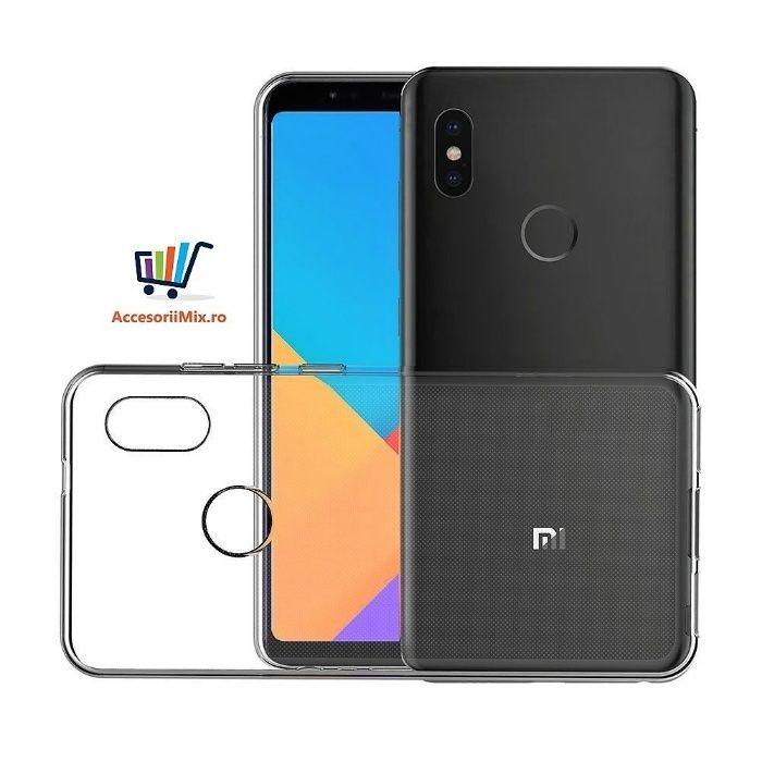Husa Silicon, Folie Sticla Xiaomi Mi6x Mi A2, Mi5x Mi A1, Mi5s,Plus,5c