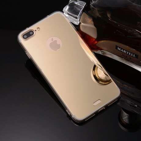 Iphone 7 7 Plus Husa Oglinda Mirror Aurie Neagra Argintie Roz