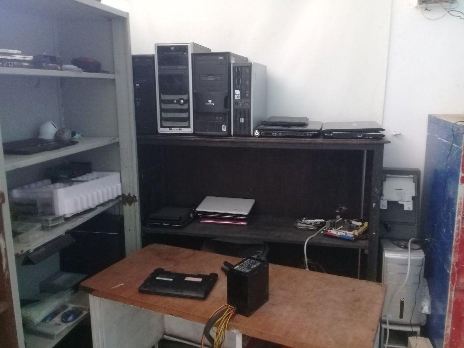 Manutenção de Computadores e Impressoras