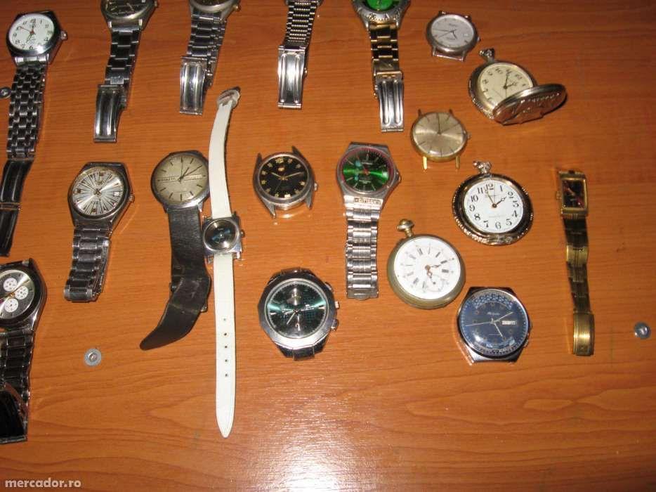 cesuri de mana mecanice si automatice, ceasuri de colectie