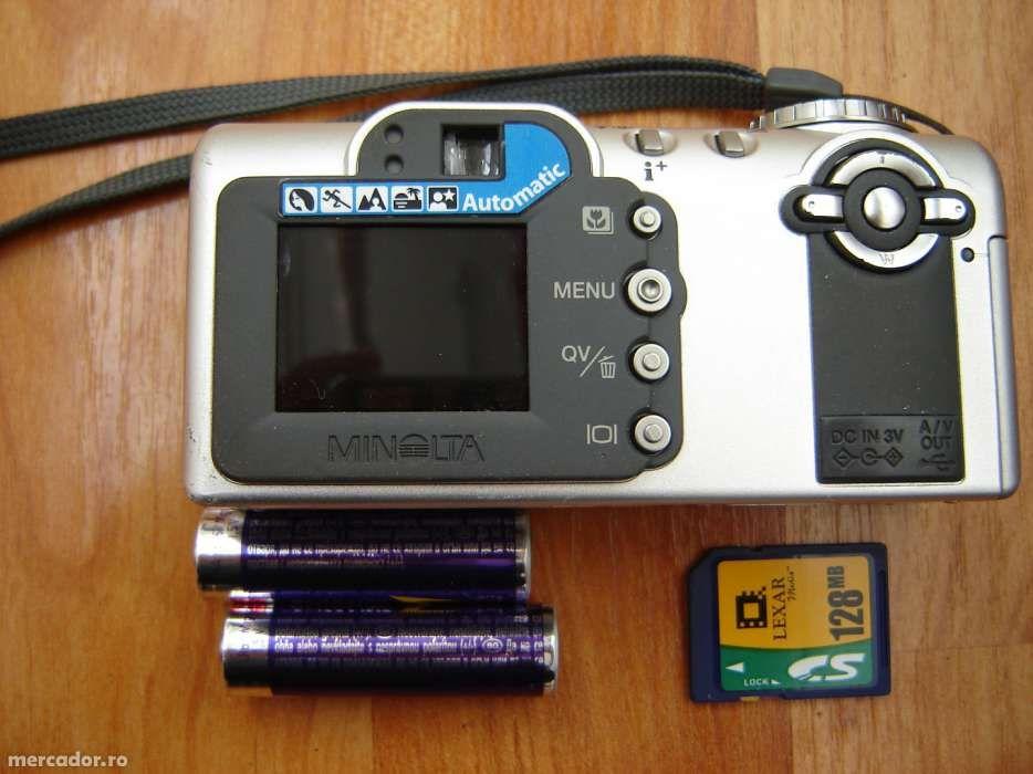 aparat foto digital Minolta+card+bateri perfecta stare de functionare