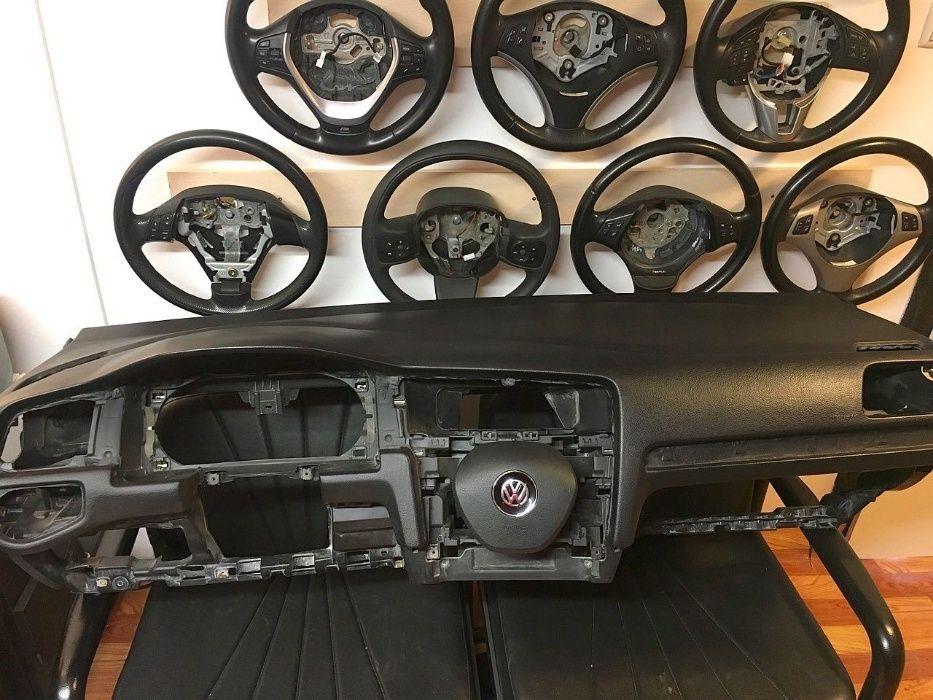 Аербег Аирбаг Airbag за воланa и таблото на VW Golf MK7