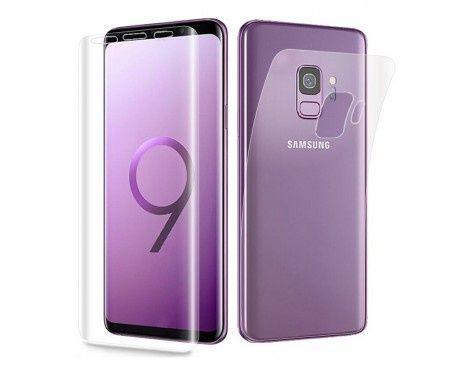 Folie Protectie ANTISOC Fata+Spate Samsung S9 /S9 Plus